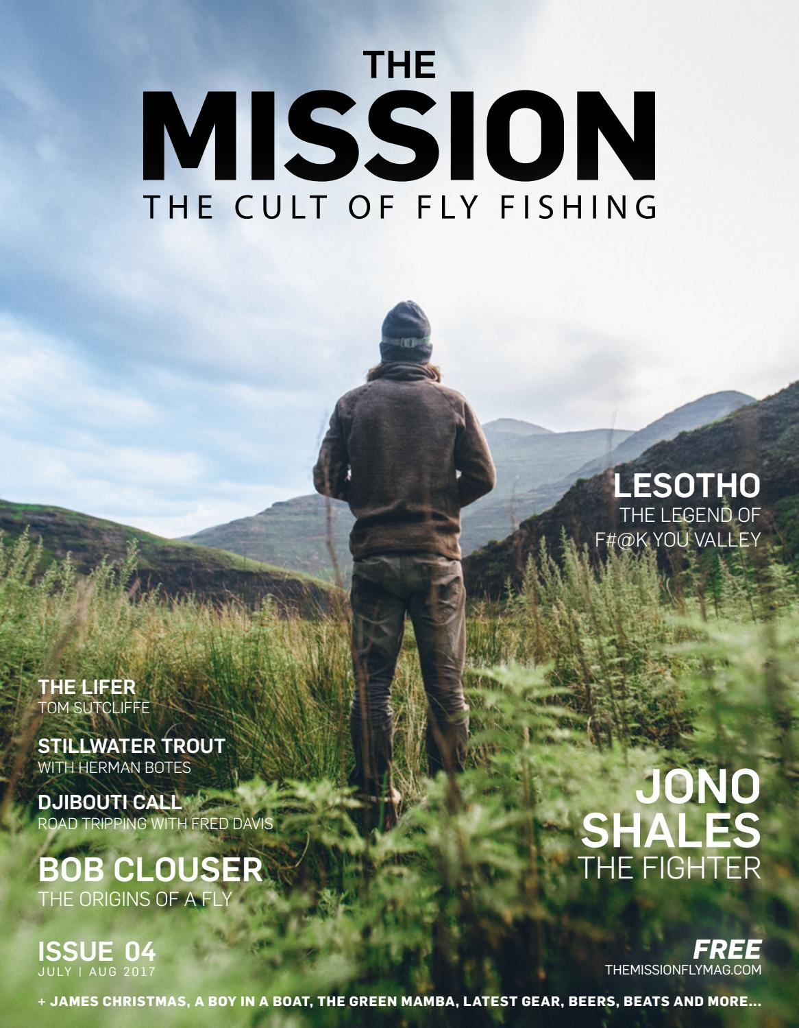 The Mission Fly Fishing Magazine Issue 4 By Jr Foldable Travel Bag Wide 21 Issuu