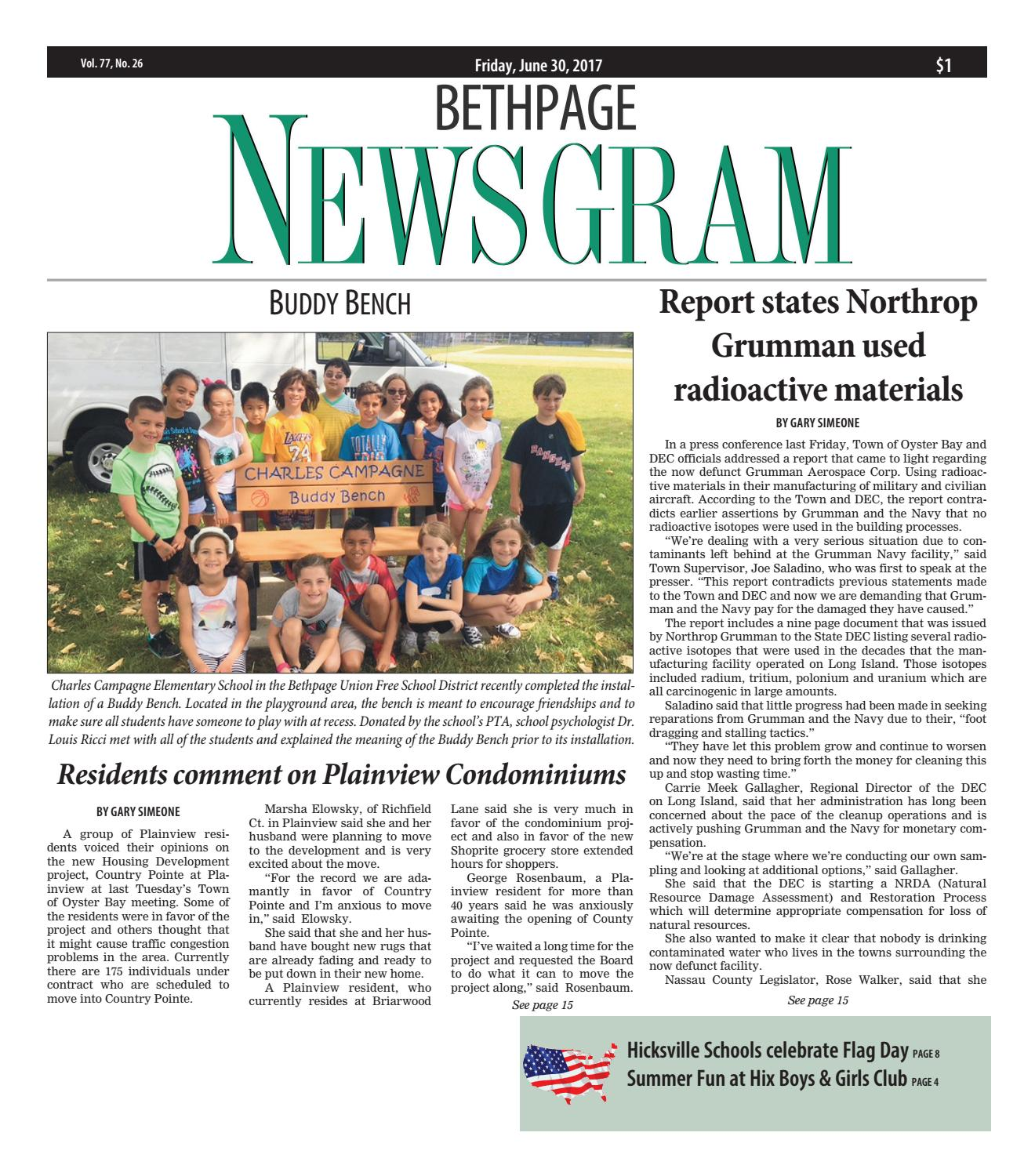Bethpage newsgram by litmor publishing issuu fandeluxe Image collections
