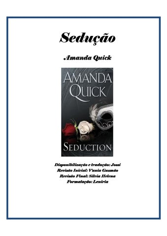 0cc6ad034 Amanda quick sedução by Ana Princes - issuu