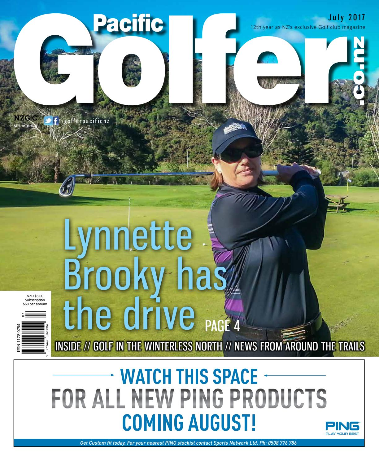 Golfer Pacific NZ - July 2017 by Golfer Pacific NZ - issuu