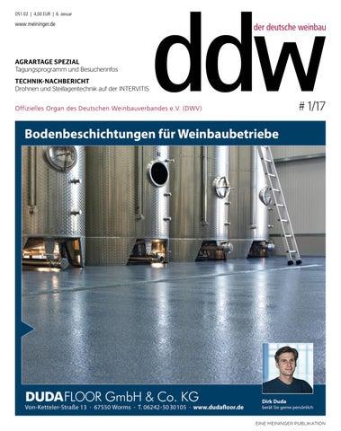 DER DEUTSCHE WEINBAU (ddw) - Ausgabe 01/2017 by MEININGER VERLAG ...