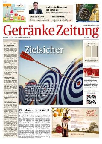 GETRÄNKE ZEITUNG - Ausgabe 01-02/2017 by MEININGER VERLAG GmbH - issuu