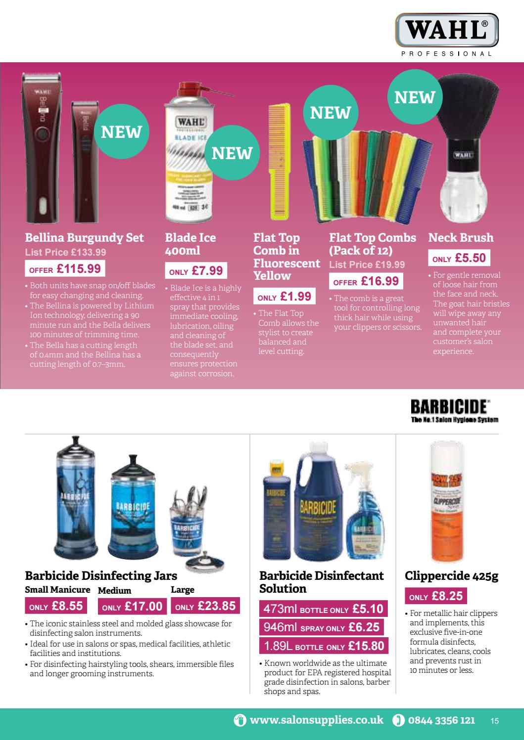 Salon Supplies July - September 2017 Offer Brochure by Salon