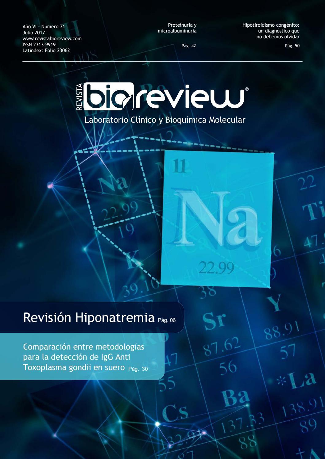 Revista Bioreview Edición 71 julio 2017 by RW SA - issuu