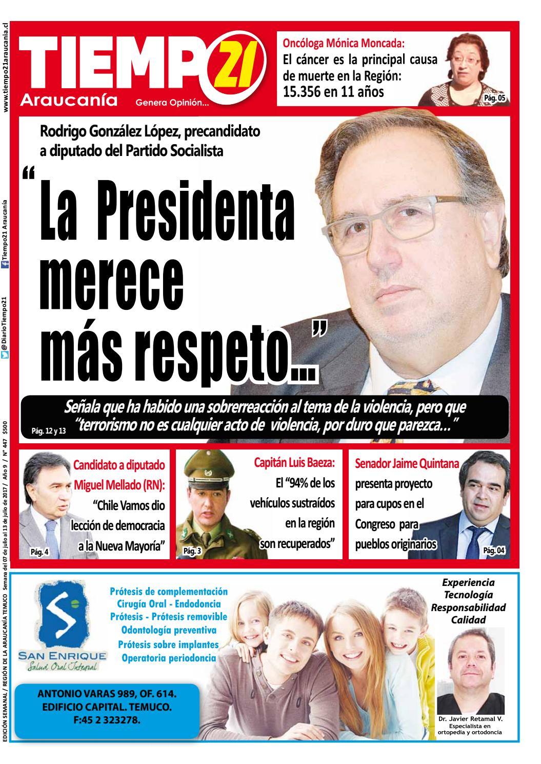 Edici N 447 Rodrigo Gonz Lez L Pez Precandidato A Diputado Ps  # Muebles El Toqui Rancagua