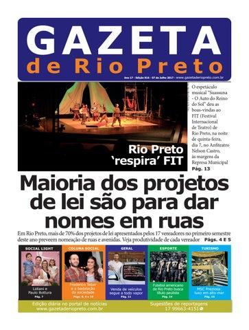 Gazeta de Rio Preto - 07 07 2017 by Social Light - issuu d00c637305