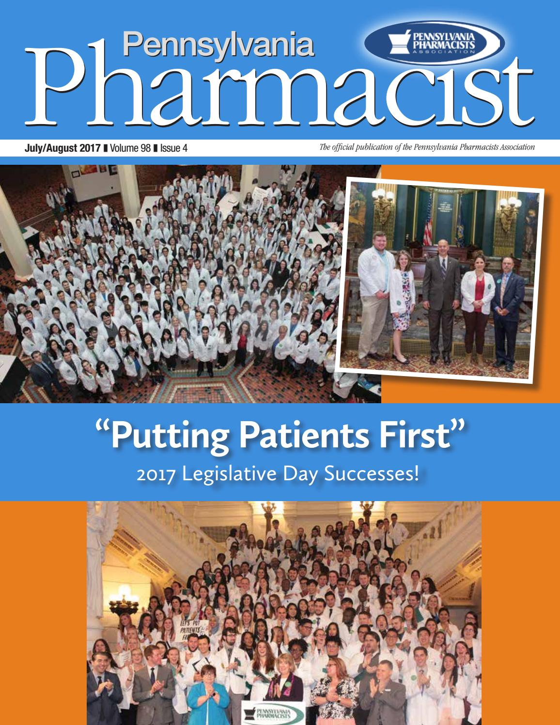Pennsylvania pharmacist julyaugust 2017 by graphtech issuu falaconquin