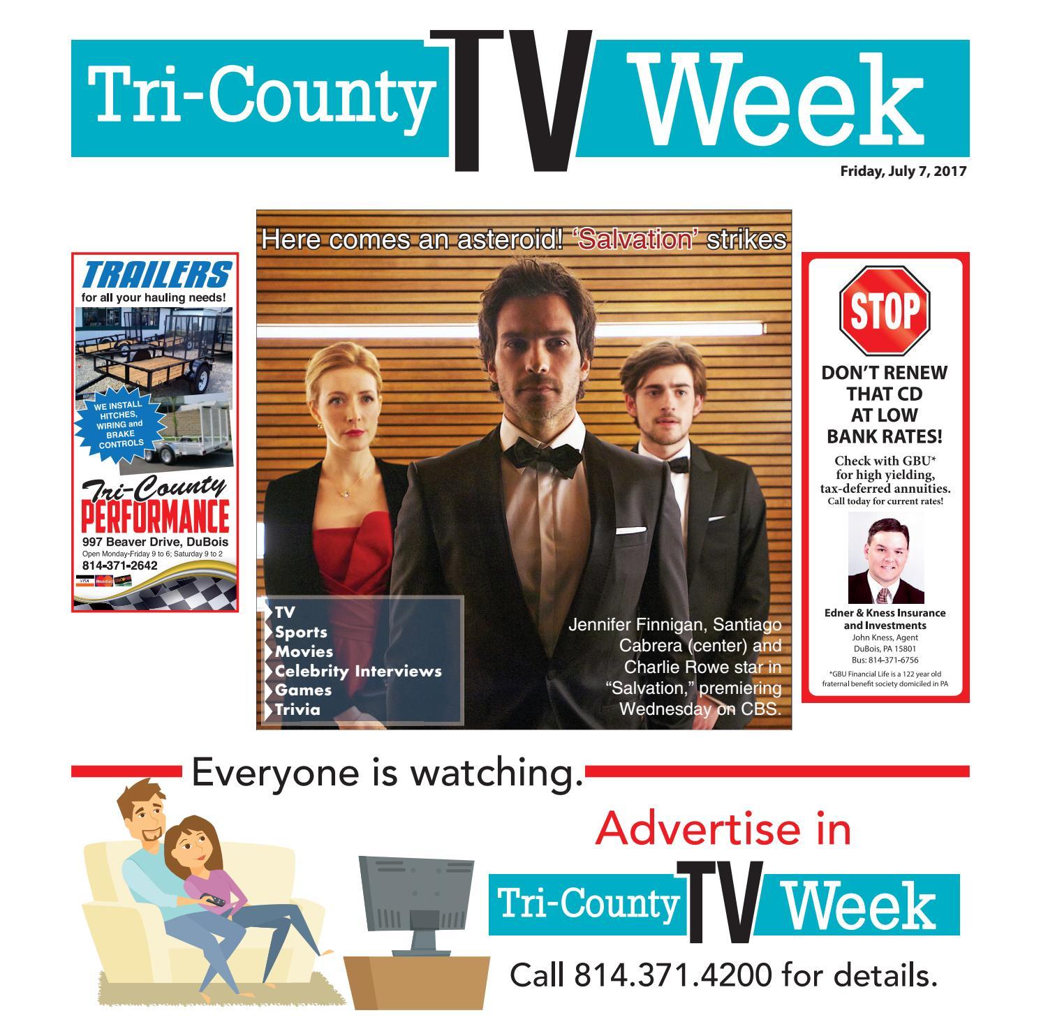 Carla Hidalgo Foto Porno tv week 07/07/2017tri-county tv week - issuu