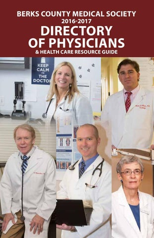 Berks County Medical Society Directory of Physicians by