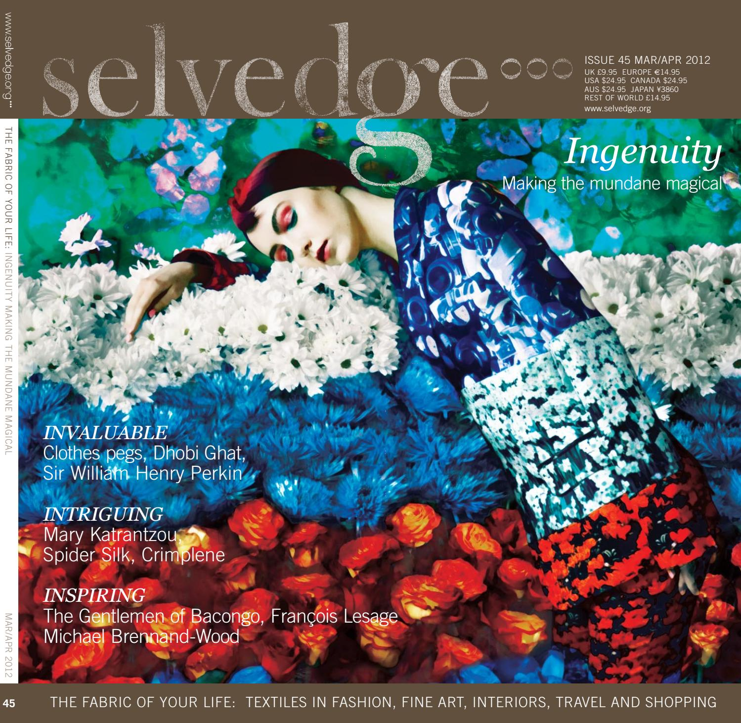 8d77b5ce 45 Ingenuity by Selvedge Magazine - issuu