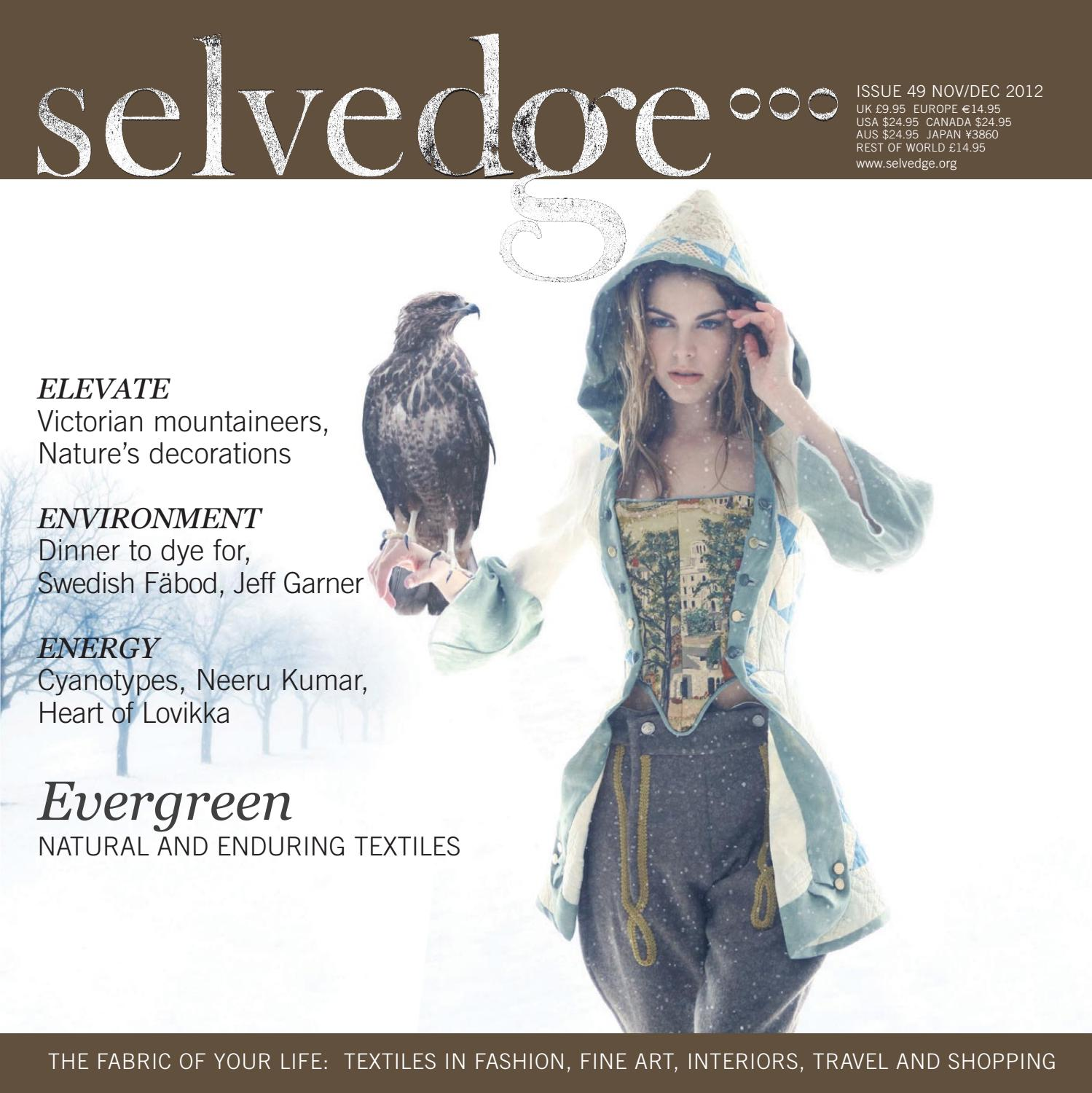 49 Evergreen By Selvedge Magazine Issuu Craft Is A Very Difficult Origami Crow Created Russian