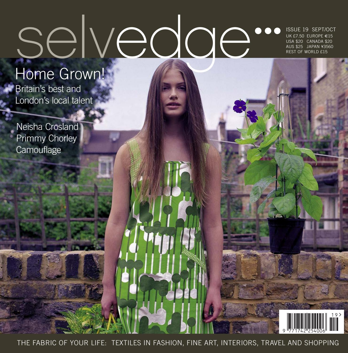 696e7322d48 19 Homegrown by Selvedge Magazine - issuu