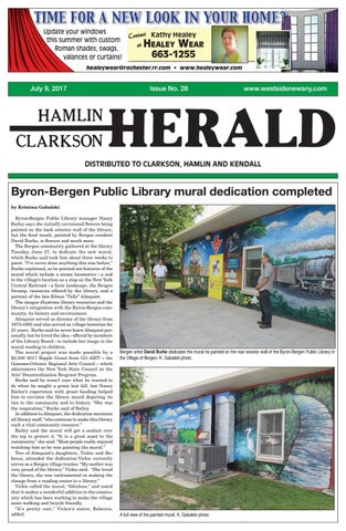 Hamlin clarkson herald july 9 2017 by westside news inc issuu page 1 fandeluxe Image collections