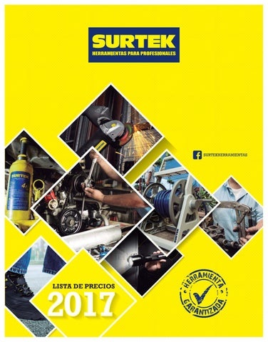 Surtek 2017 by Herramientas Mecanicas - issuu 4574b56d641a