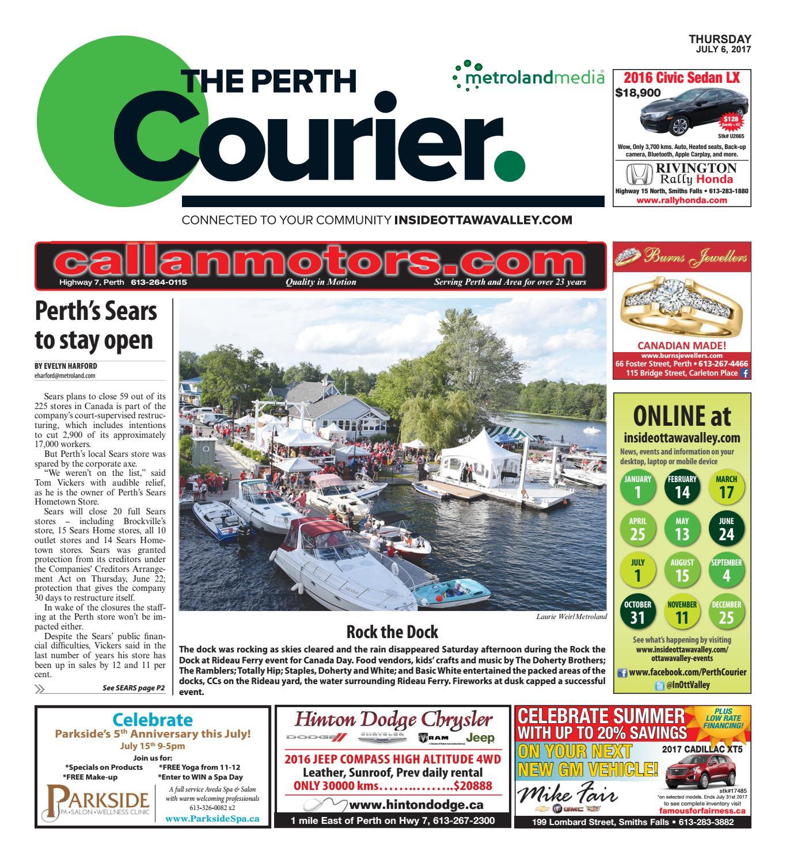 Perth070617 By Metroland East The Perth Courier Issuu Karlsson Jam Alarm Clock Square Dark Wood Veneer Led 15 X 48 10cm