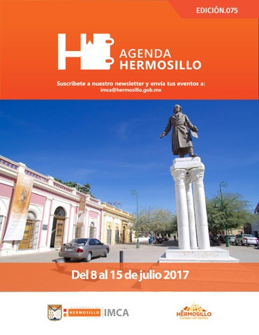 "Cover of ""Agenda Hermosillo 08 julio 2017"""