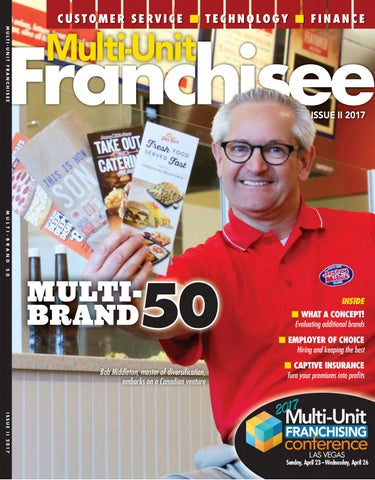 Multi Unit Franchisee Magazine Issue Ii 2017 By Franchise Update