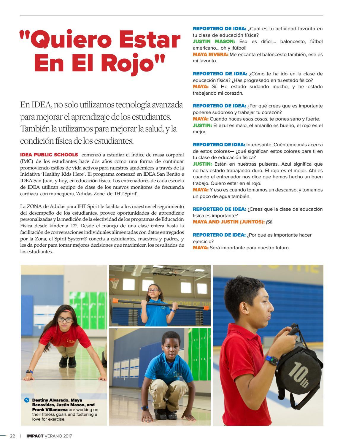 c8b39ae3b Impact summer volume 4 issue 1 2017 transportation spanish issuu by IDEA  Public Schools - issuu
