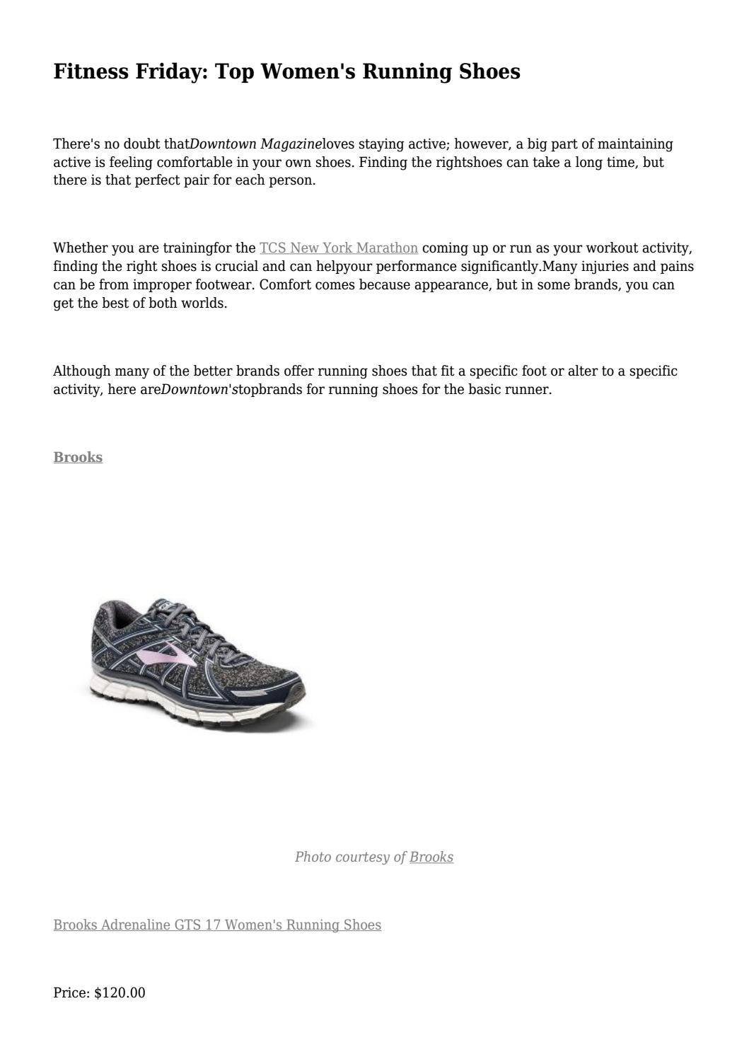 Fitness Friday: Top Women's Running