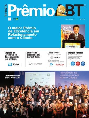 Revista Xvi Prêmioabt By Garrido Marketing Issuu