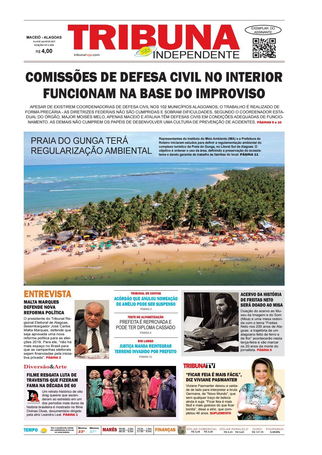 604abc5dc3 Edição número 2935 - 8 e 9 de julho de 2017 by Tribuna Hoje - issuu