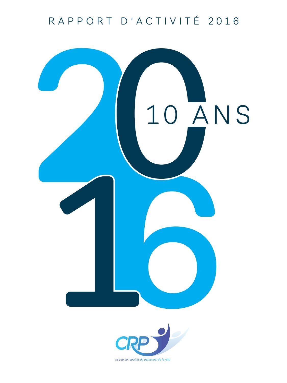 Calendrier Paiement Pension Invalidite 2020 Cpam.Caisse De Retraite De La Ratp Rapport Annuel 2016 By