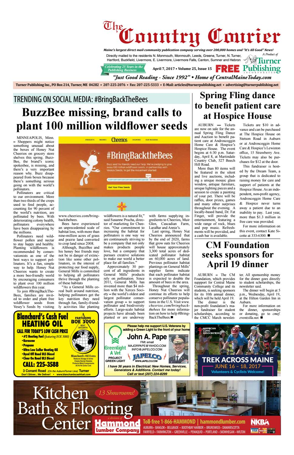 Country Courier April 2017 by Turner Publishing, Inc  - issuu