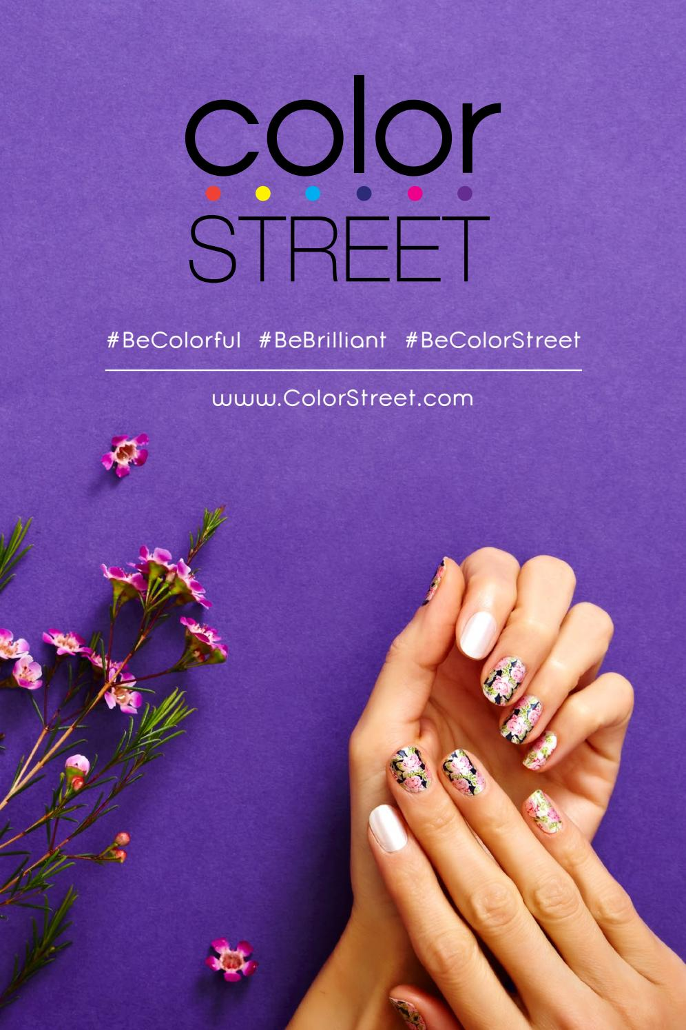 Color Street Catalog By Danielle Peterson Thirty One Independent Director Issuu