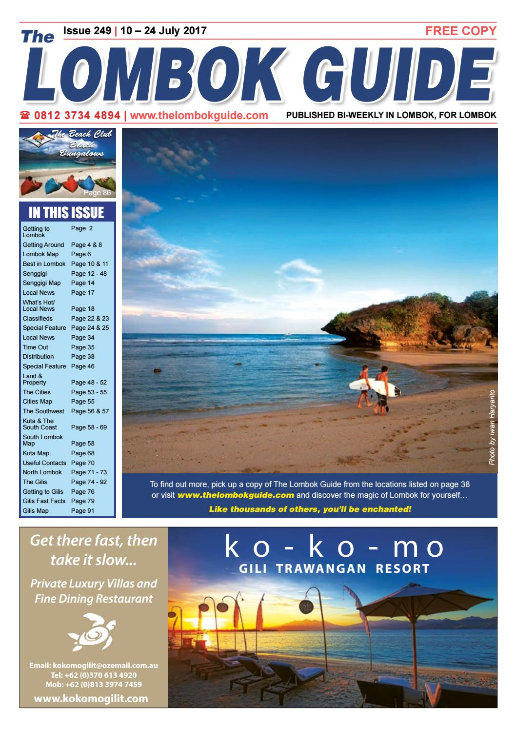 The Lombok Guide Issue 249 By Issuu Agung Voucher Hypermart 50000 Bth