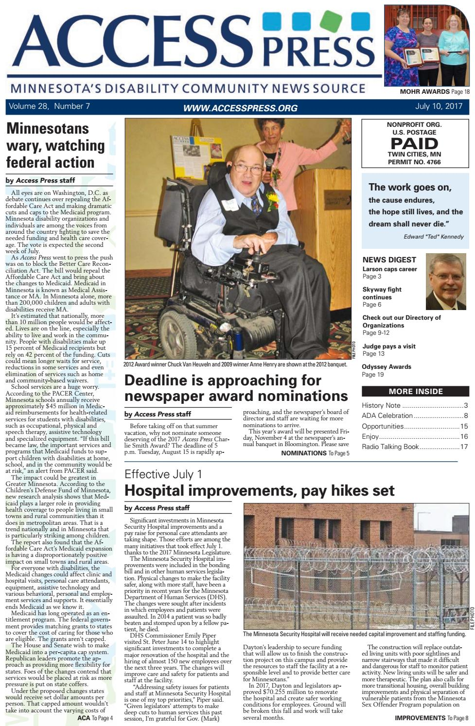July 2017 issue by Access Press - issuu