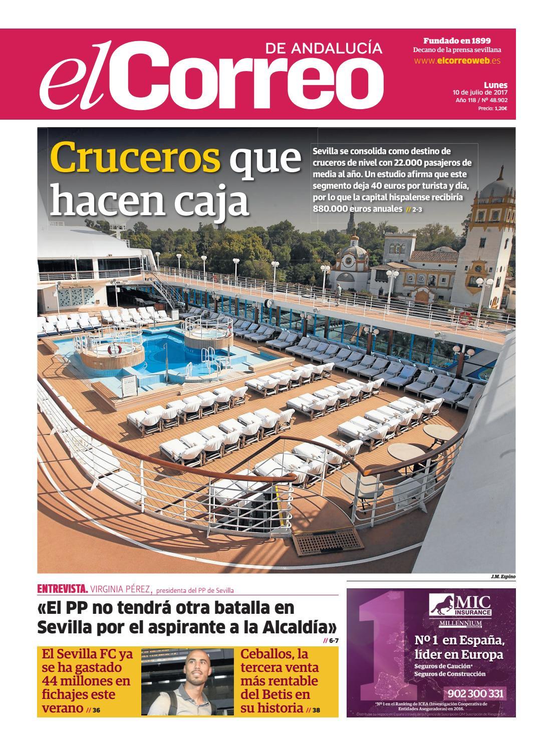 10 07 2017 El Correo de Andalucía by EL CORREO DE ANDALUCÍA S.L. - issuu