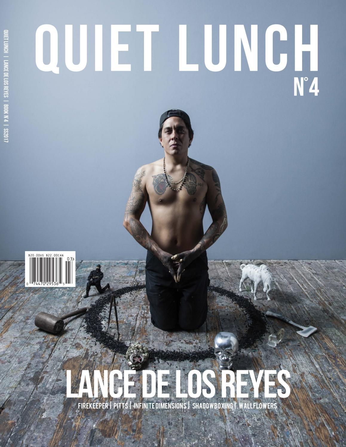 Quiet Lunch Lance De Los Reyes Book No 4 By Quiet Lunch Issuu