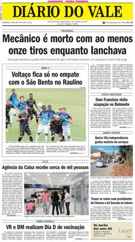 8429 diario segunda feira 10 07 2017 by Diário do Vale - issuu ed6848d8ce6c0