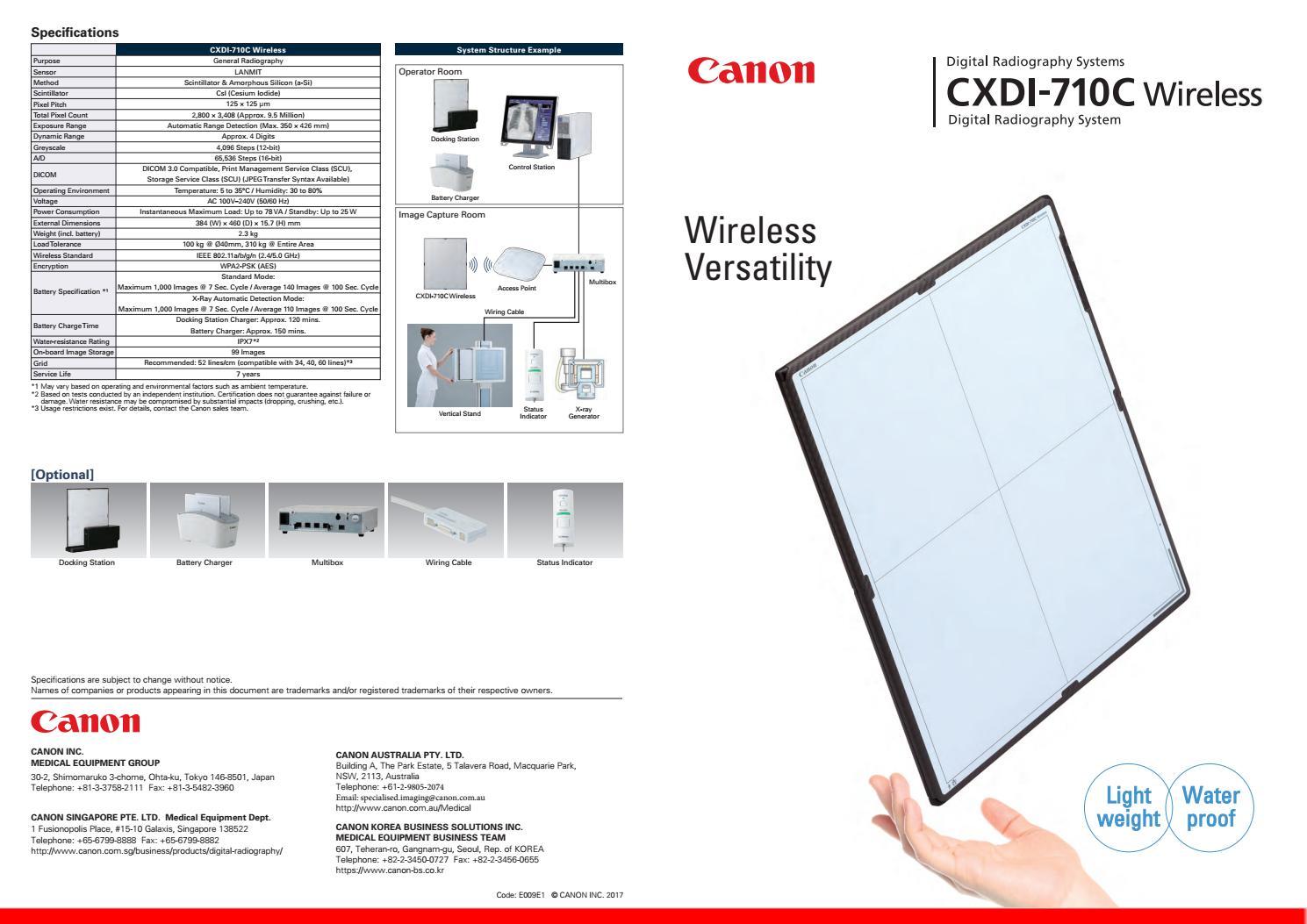 Brochure aus170522 cxdi 710c wireless en v1 au revision sm by DLC