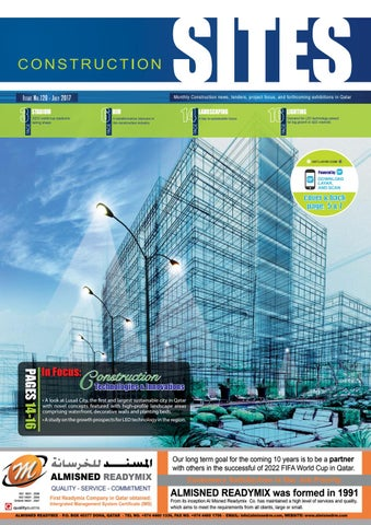 Construction Sites | July Issue no  120 by Qatar