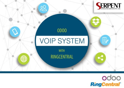 VOIP System With Odoo RingCentral by Odoo Services Provider