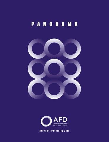 1f0c0fb571f7b Rapport Annuel de l AFD - Panorama 2016 by Agence Française de ...