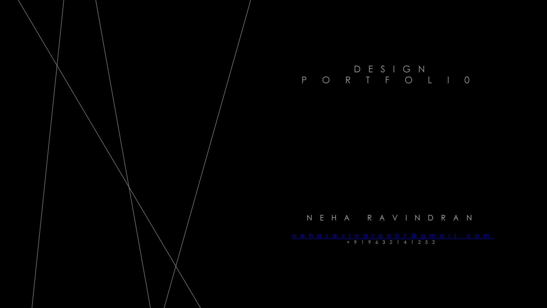 Neha ravindran portfolio 2017 by Neha Ravindran - issuu
