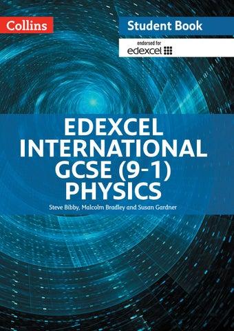 Edexcel International GCSE Physics Student Book sample chapter by