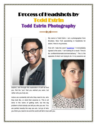 Best Headshot Photographers New York by Todd Estrin
