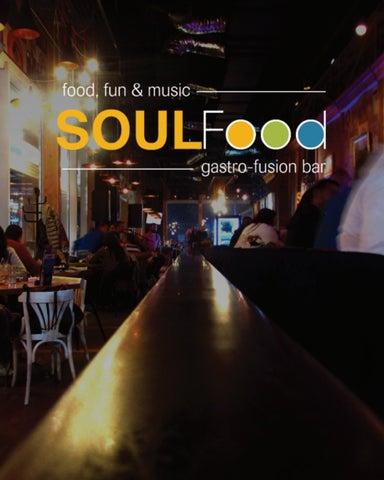 Soulfood Meni I Karta Pica By Jovana94 Issuu