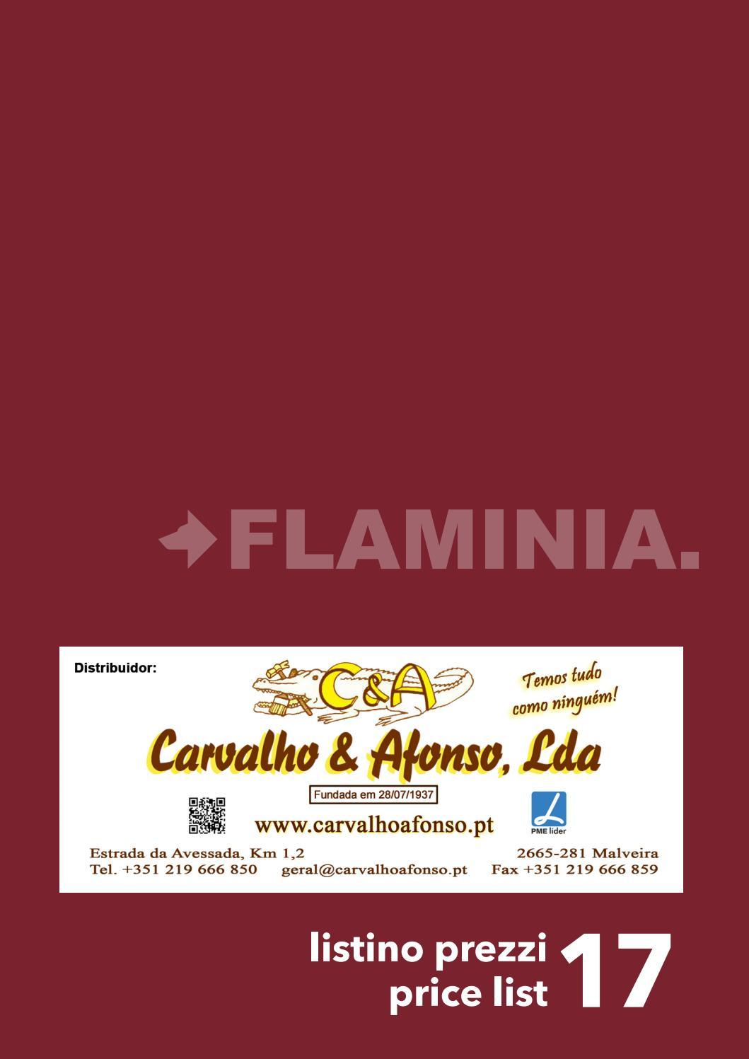 Listino Prezzi Ceramica Flaminia.Flaminia Tabela Precos 2017 Ca By Carvalho Afonso Lda Issuu
