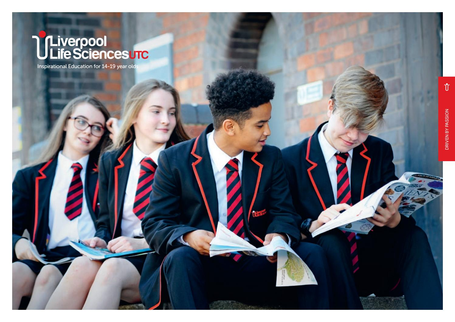 Liverpool utc prospectus v2 (2) by Northern Schools Trust