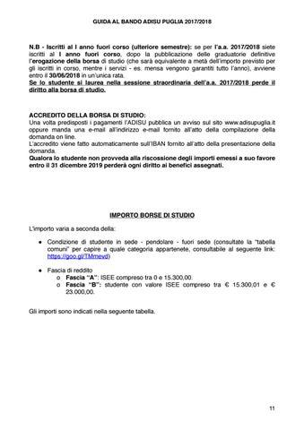 e65a7aaeef Guida bando ADiSU Puglia 2017-18 by Rete della Conoscenza Puglia - issuu