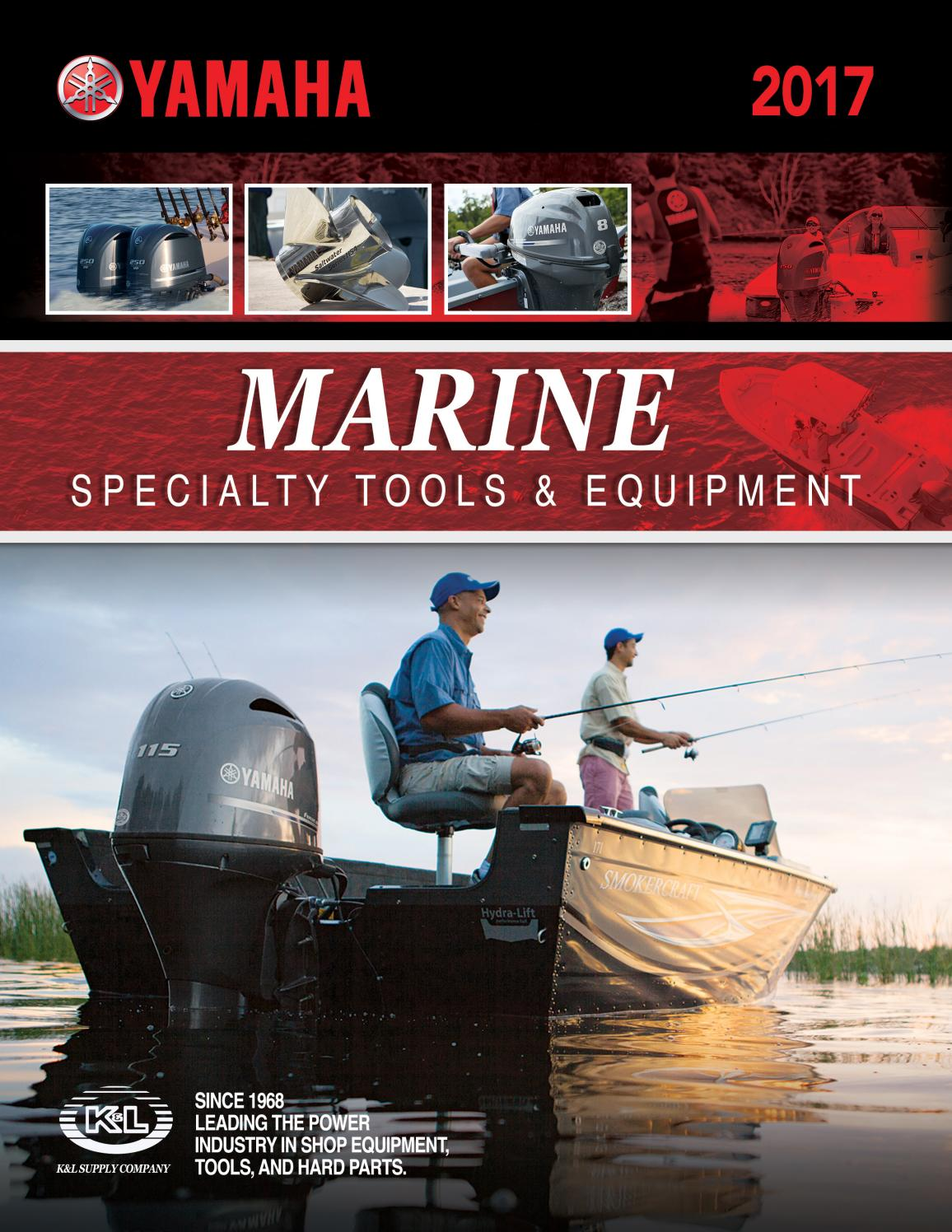 2017 yamaha marine specialty tool catalog by k l supply