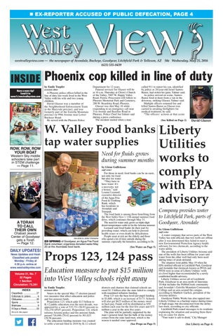 West Valley View May 25 2016