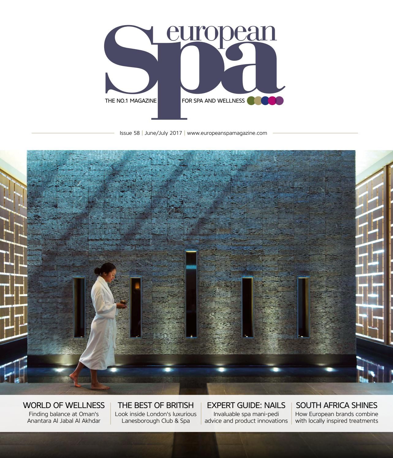 European Spa Mag Issue 58 By European Spa Magazine Issuu