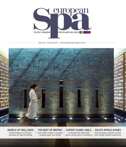 European spa mag issue 58 by European Spa magazine - issuu 005eef0ea83