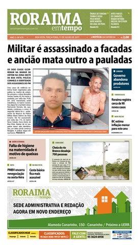 Jornal roraima em tempo – edição 674 by RoraimaEmTempo - issuu 0b26930925