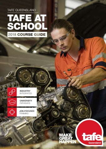 TAFE At School 2018 Course Guide